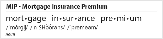 Mortgage Insurance Premium Definition