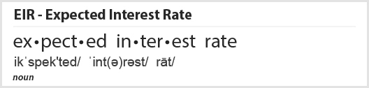 Expected Interest Rate Definition