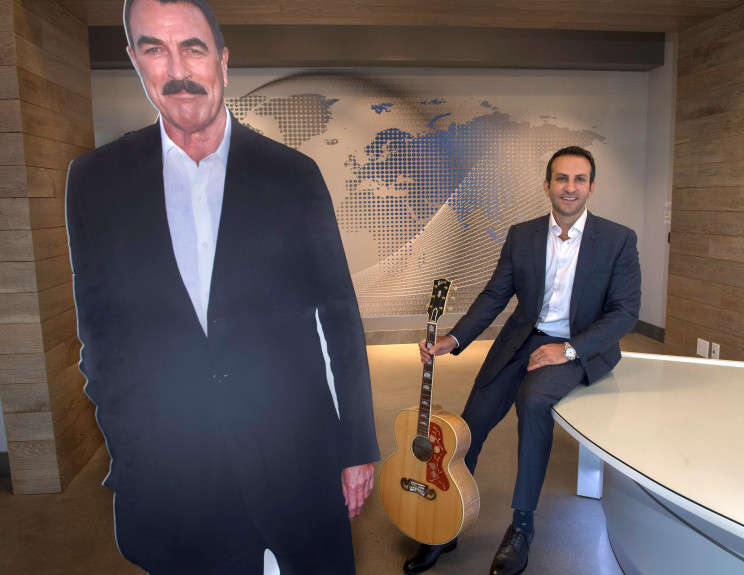 Orange County Register: Who is that Man with Reza Jahangiri? 1